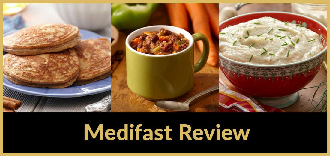 snacks and meals from Medifast