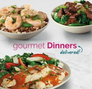 gourmet meals delivered