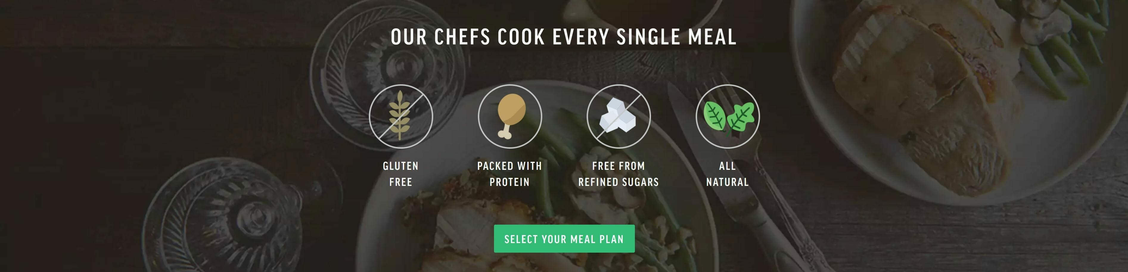 All meals at Freshly are gluten-free