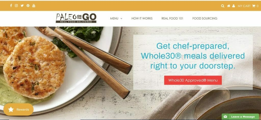 Paleo on the Go's Whole30 meals