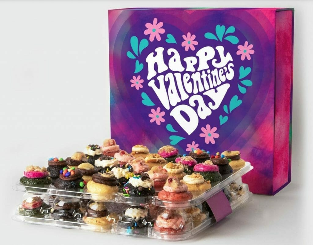 Cupcake delivery for Valentine's day by Baked by Melissa's