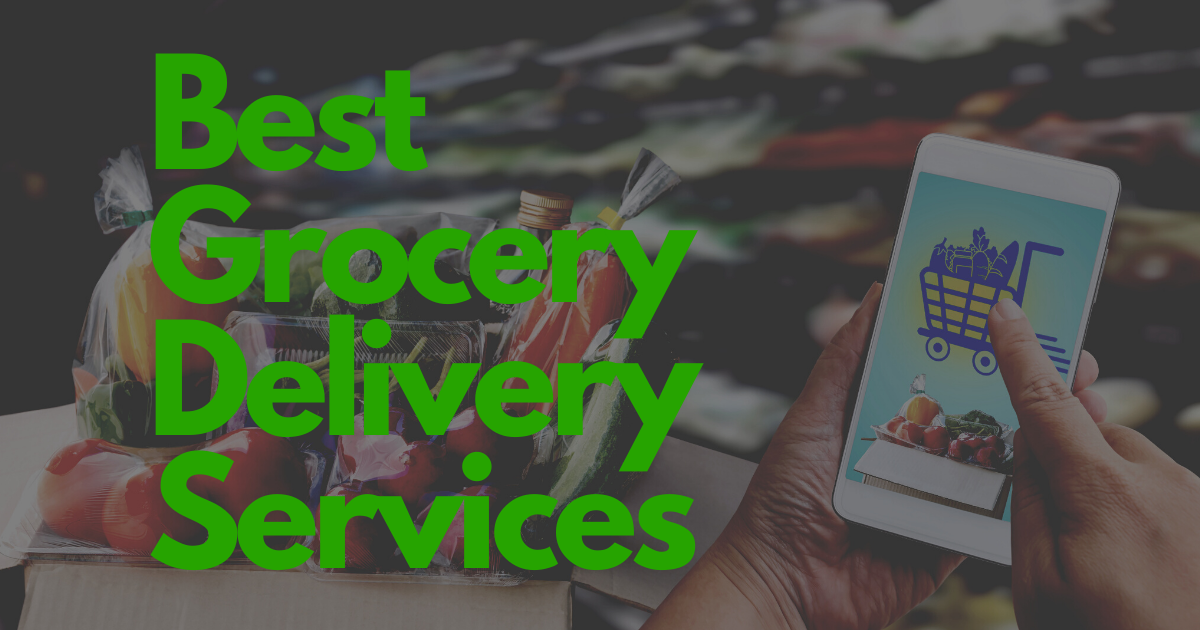 Best grocery services delivered straight to your door